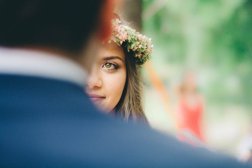 wedding gaze